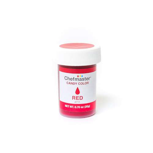 20g Candy Color - Chefmaster Red