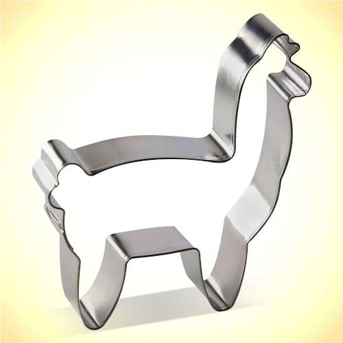 Alpaca Cookie Cutter