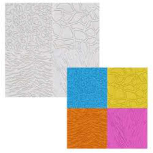 Animal Impression Mats - Set of 4
