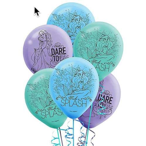 The Little Mermaid Balloons