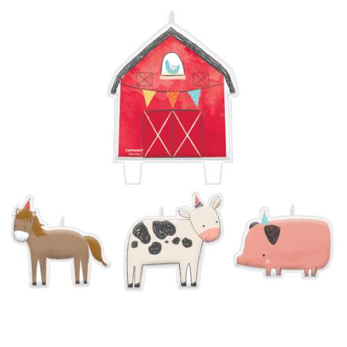 Barnyard Candle Set