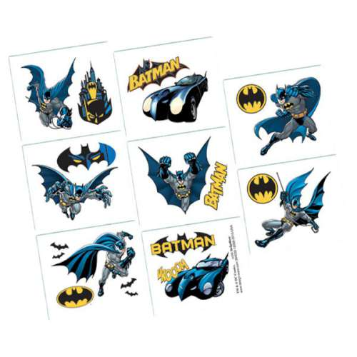 Batman Temporary Tattoos