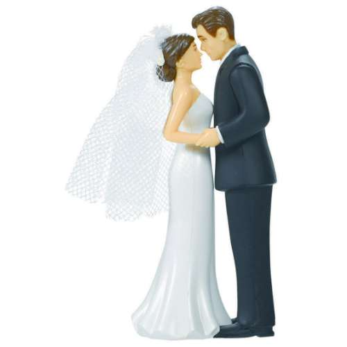 Bride and Groom Cake Topper #2