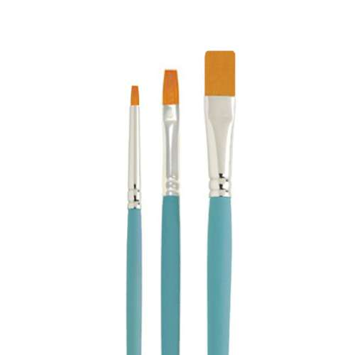 Cake Craft 3 pc Brush Set - Click Image to Close