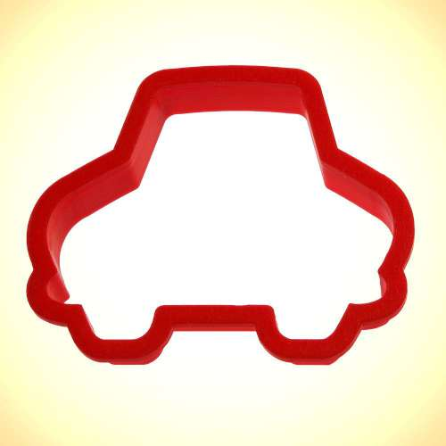 Cartoon Car Cookie Cutter