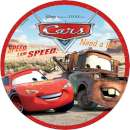 Lightning Mcqueen and Matar Edible Icing Image