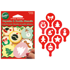 Christmas Cookie & Cupcake Stencils