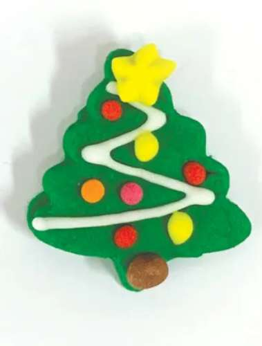 Christmas Tree Sugar Decorations