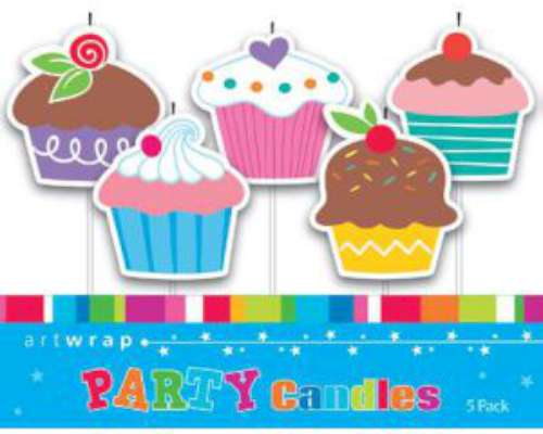 Party Candles - Cupcakes