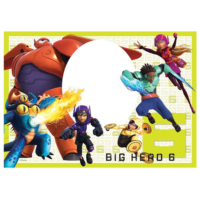 Customised Big Hero 6 Icing Image - A4