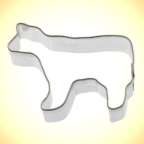 Mini Cow Cookie Cutter or Fondant Cutter