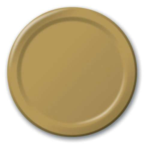 Gold Lunch Plates