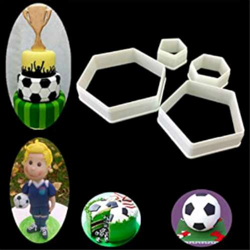 Soccerball Cutter Set - 4 pc