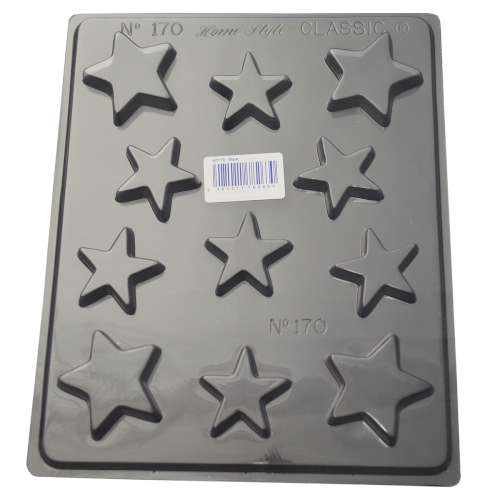 Stars Chocolate Mould