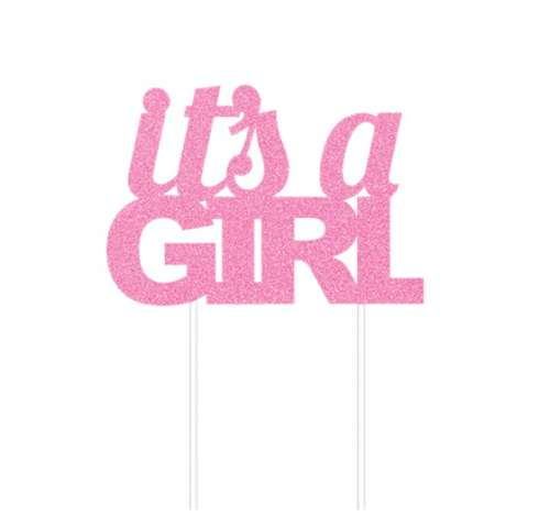 It's A Girl Cake Topper #2