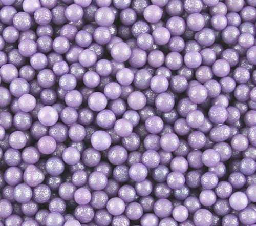 Lavender Purple Sugar Pearls