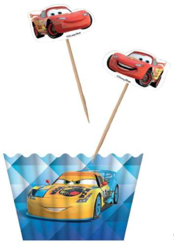 Lightning Mcqueen Cupcake Decorating Combo