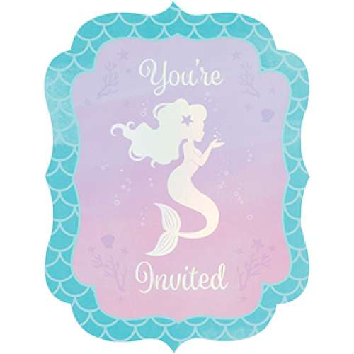 Mermaid Shine Invitations