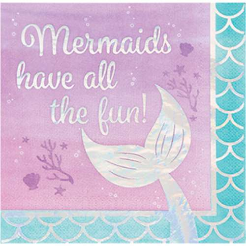 Mermaid Shine Napkins