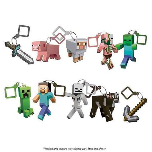 Minecraft Cake Topper Set
