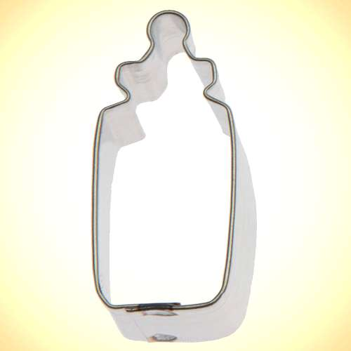 Mini Baby Bottle Cookie Cutter or Fondant Cutter