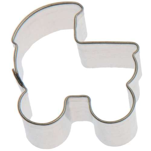Mini Baby Pram Cookie Cutter or Fondant Cutter