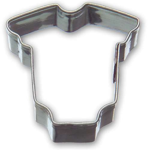 Mini Baby Onesie Cookie Cutter or Fondant Cutter