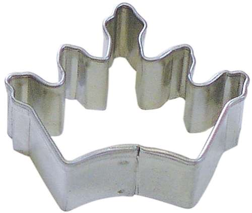Mini Crown Cookie or Fondant Cutter