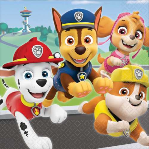 Paw Patrol Adventure Lunch Napkins