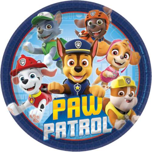 Paw Patrol Adventures Lunch Plates