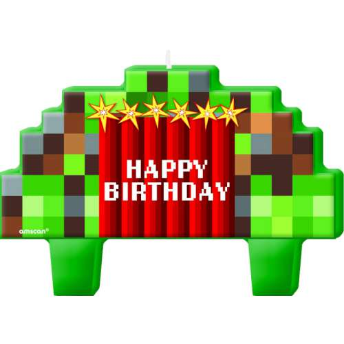 Minecraft Pixalated Candle