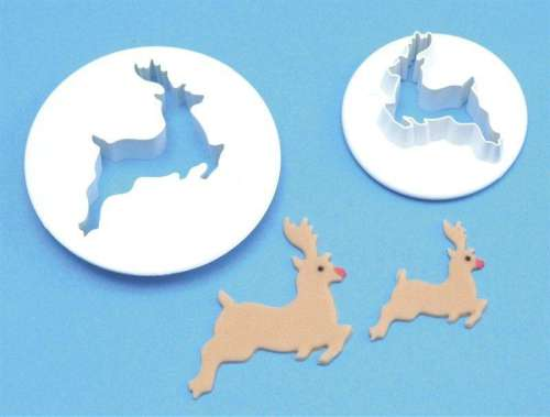 PME Reindeer Cutters - set of 2