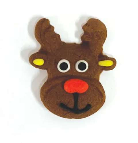 Reindeer Head Sugar Decorations