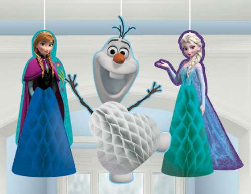 Frozen Fluffy Hanging Decorations