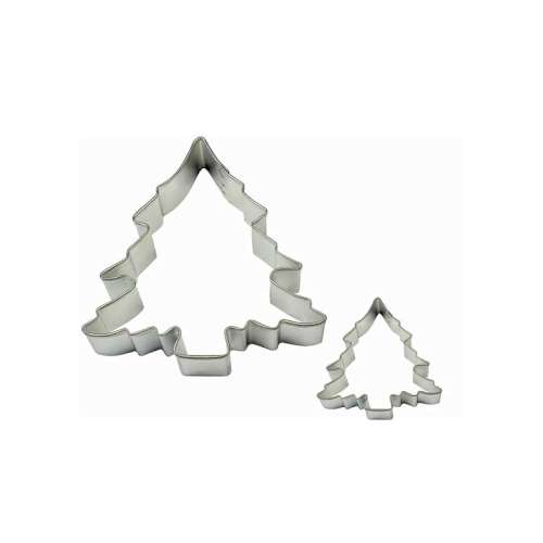 Mini Christmas Tree Cookie Cutter or Fondant Cutter