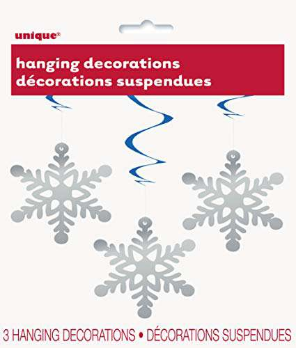 Snow Flake Hanging Decorations