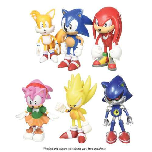 Sonic The Hedgehog Cake Topper Set