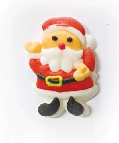 Santa Claus Sugar Decorations