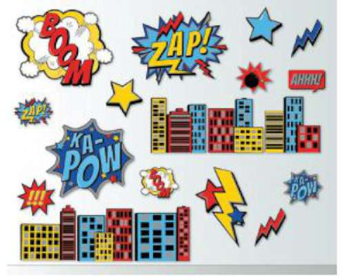 Superhero Wall Decorations