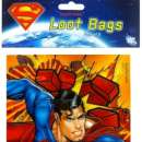 Superman Party Loot bags