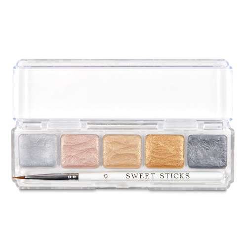 Sweetsticks Edible Art Paint Mini Palette - Metallics