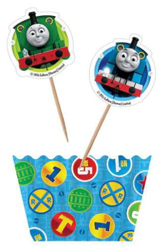 Thomas The Tank Engine Cupcake Decorating Combo