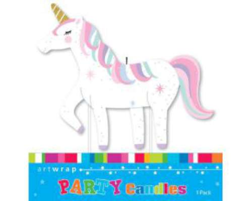 Party Candle - Unicorn