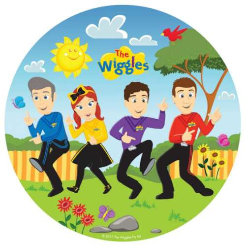 The Wiggles Dinner Plates