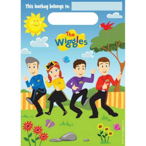 The Wiggles Lootbags